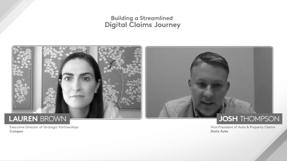 Building a Streamlined Digital Claims Journey